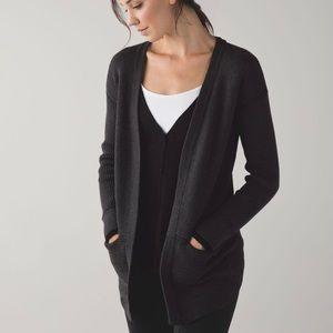 LULULEMON NWT 4 Cashmere Knit Cardigan Sweater